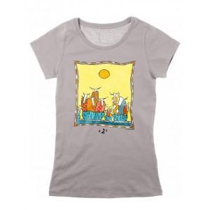 Tee-shirt coton bio gris +2°
