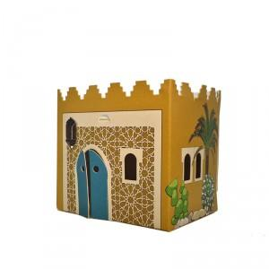 Veilleuse maison carton Maroc Moyen-Orient
