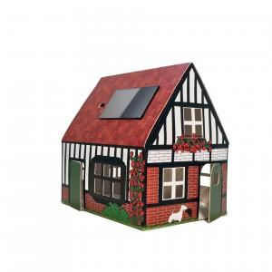 Veilleuse carton maison Angleterre