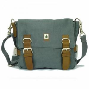 Petite sacoche chanvre bandoulière et ceinture