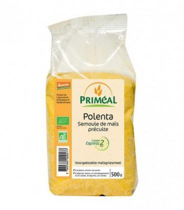 Polenta, semoule de maïs précuite
