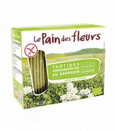 Tartines craquantes au sarrasin sans gluten bio