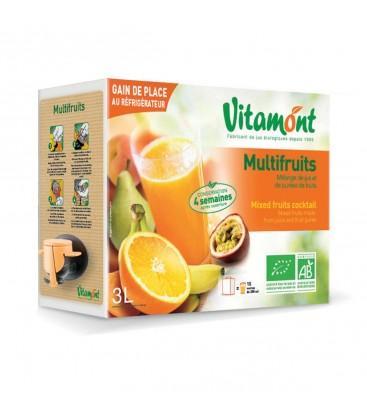 Jus Multifruits bio en cubi