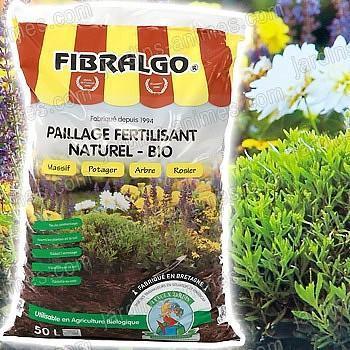 Fibralgo x5 - paillage fertilisant