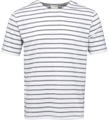 T-Shirt Striped Jaquard Total Eclipse