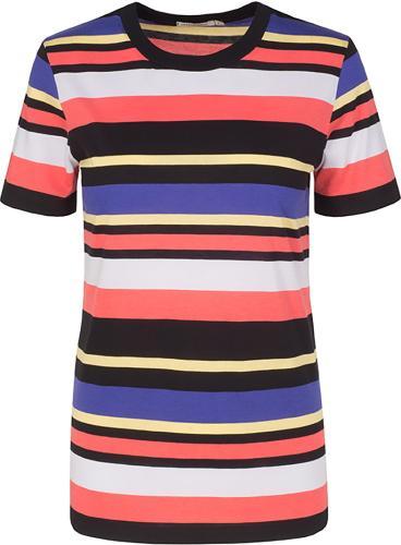 Lida Multicolor Stripe Black