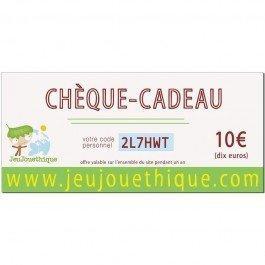 Chèque Cadeau - 10 €