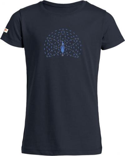 T-shirt enfant imprimé Paon 7ans