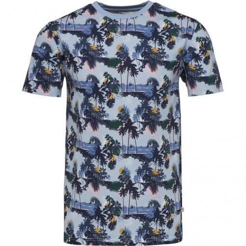T-shirt All Over Palm Print Skyway