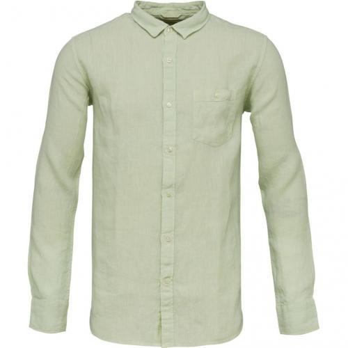 Garment Dyed Linen Shirt SeaCreast