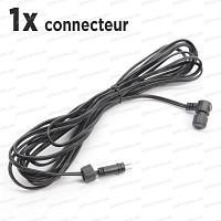 Cable Rallonge de 6m, 1 connecteur basse tension 12V
