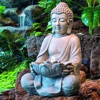 Fontaine Bouddha à Led interieur exterieur