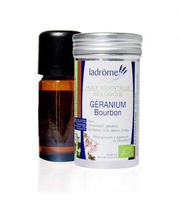 Huile essentielle de géranium type bourbon bio