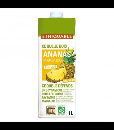 Jus d'ananas bio - équitable