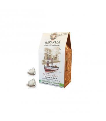 Capsules biodégradables de café bio ALBERT x15