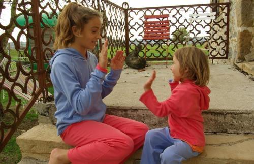 Sweater enfant doublé et réversible