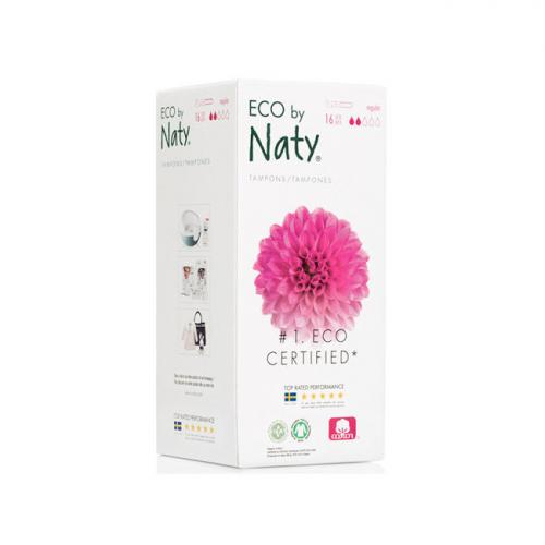 NATY 16 Tampons avec applicateur NORMAL