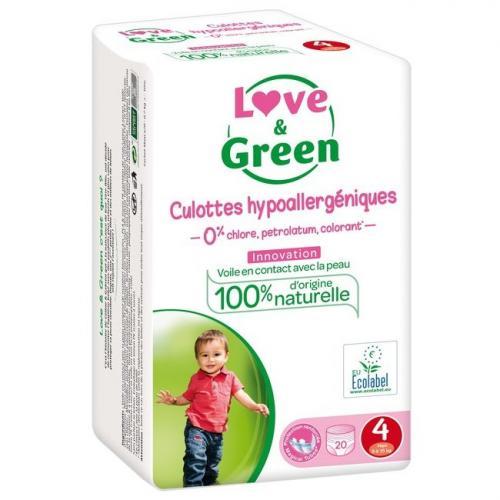 Love - Green 20 culottes T4 7-14 kg