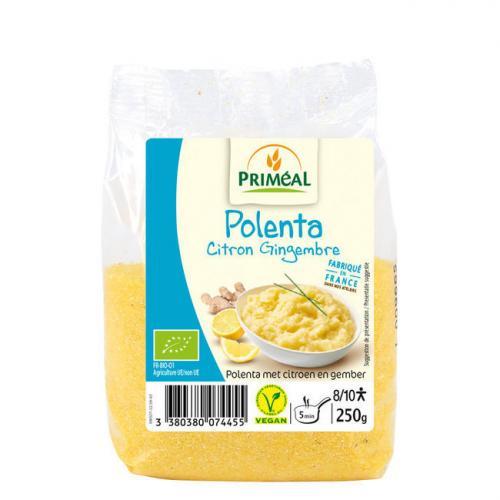 Priméal Polenta Citron Gingembre - 250g