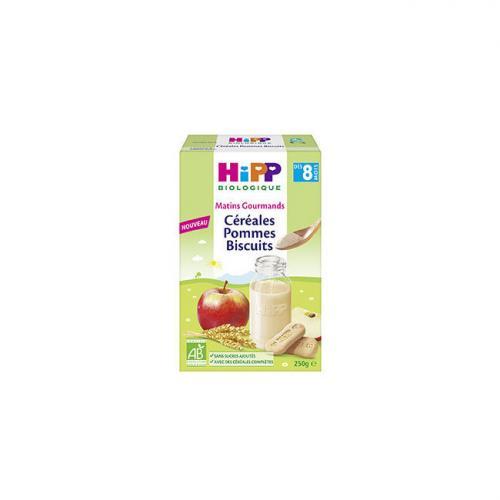 HiPP Céréales Pommes Biscuits dès 8 mois