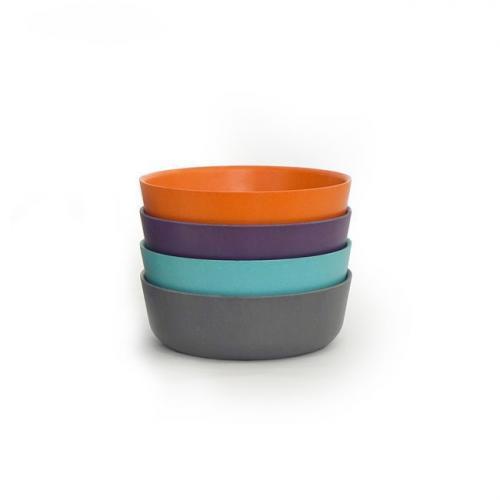 Ekobo Set de 4 bols pour enfant