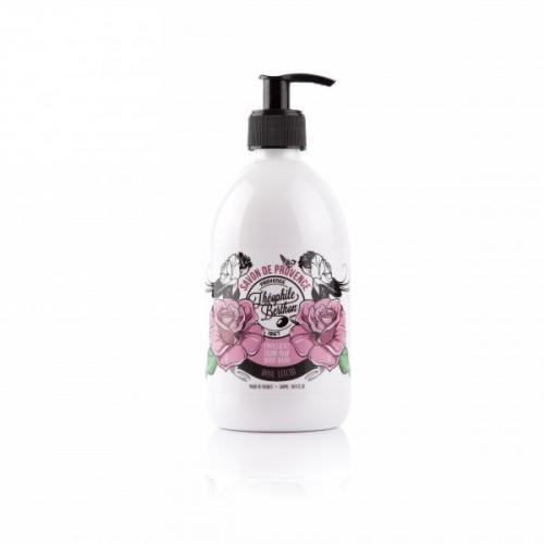 Le Savon de Provence. Bain-douche. Parfum Rose litchi. Surgras. 500ML