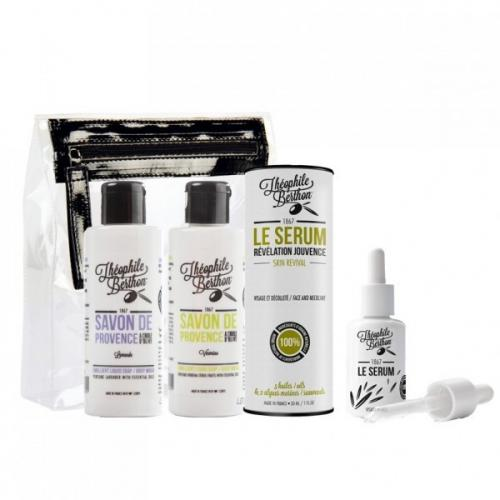 Trousse de 3 produits Slow - 2 Savons de Provence et sérum visage - Valeur 52,90'