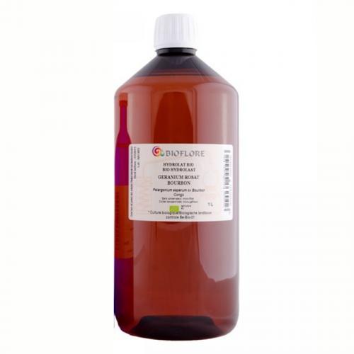 Hydrolat de géranium rosat cv Bourbon, 1 litre