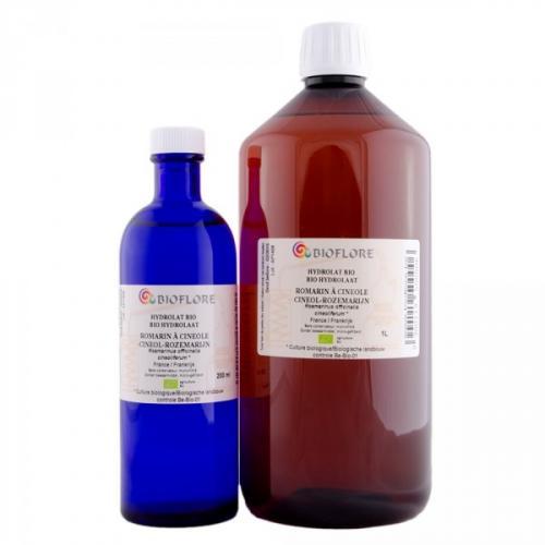 Hydrolat de romarin à cinéole bio, 1 litre
