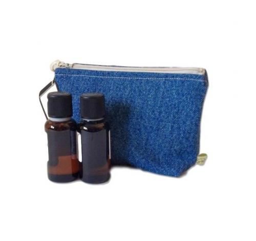 Trousse de rangement pour soins et maquillage - 12 x 16,5 cm