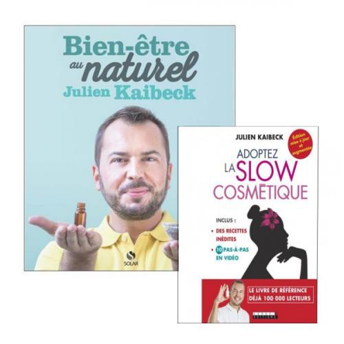 Duo de livres : Adoptez la Slow Cosmétique (2017) et Le Bien-être au Naturel