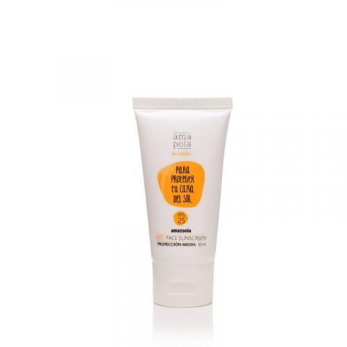 Crème visage solaire SPF 25