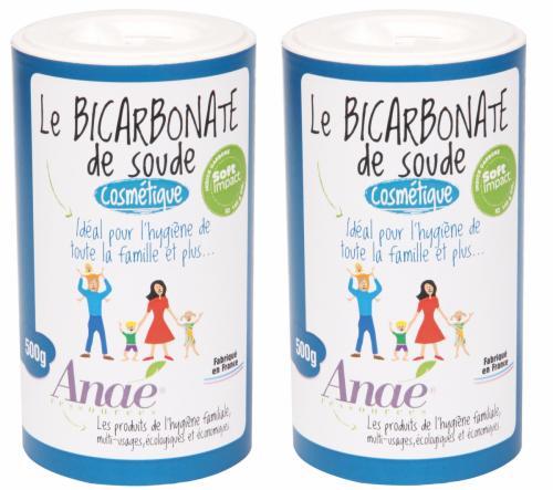 Bicarbonate de soude cosmétique - duo