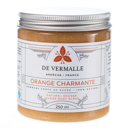 Orange Charmante - Gommage corps au sucre 100% naturel