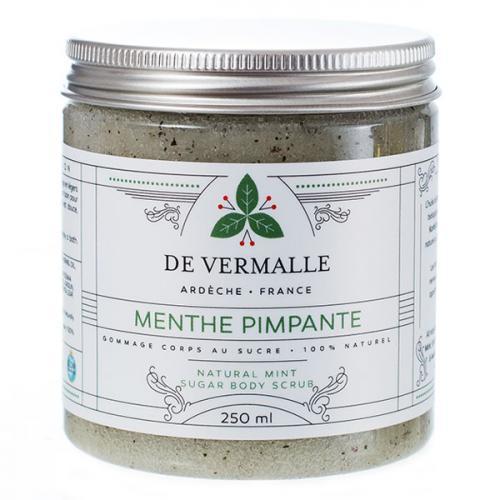 Menthe Pimpante - Gommage corps au sucre 100% naturel