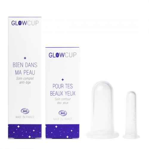 Pack Cups Massage et Soins Visage -  Glowcup classic