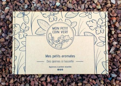 Kit de jardinage - Mes Petits aromates
