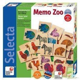 Mémo Zoo, un mémory en bois