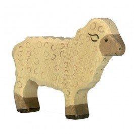 Mouton blanc Holztiger