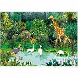 Puzzle en bois L'Oasis de Kirikou 24 pièces