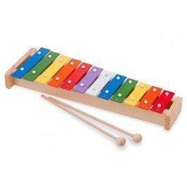 Xylophone en bois traditionnel 12 tons