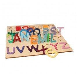 image Puzzle Alphabet grandes lettres de Grimm's