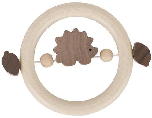 Hochet bois avec élastique  Hérisson Naturel 764980