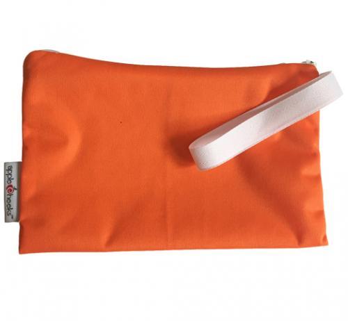 Sac imperméable réutilisable MINI ZIP (Taille M) Orange moi ça
