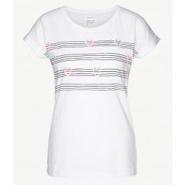 Liv Hearts On Stripes White