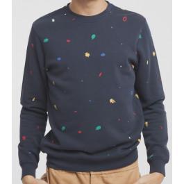 Matisse Leafs Sweatshirt Bleu