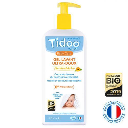 TIDOO Gel lavant Calendula Bio - 475ml