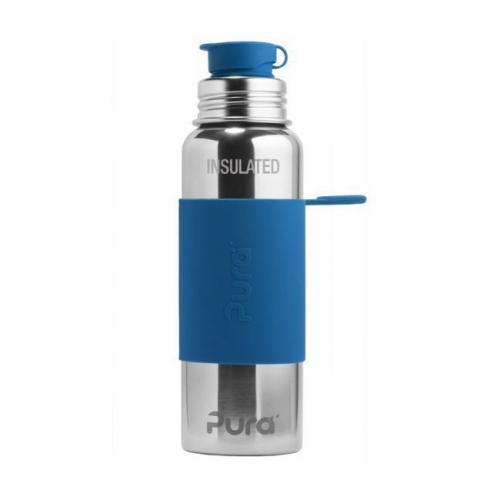 Gourde bleu en inox isotherme 650ml