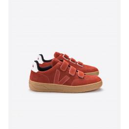 V-lock suede rouille natural sole