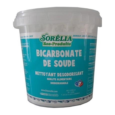 Bicarbonate de Soude 1 kg avec doseur - Qualité alimentaire